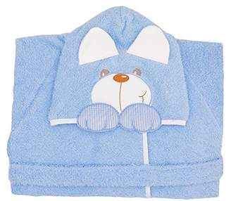 Andy & Helen 932M Dressing Gown Sleeves Embroidered Sky