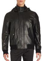 Michael Kors Military Sheepskin Jacket