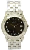 Gucci 5500M Stainless Steel Black Dial Quartz 35mm Men