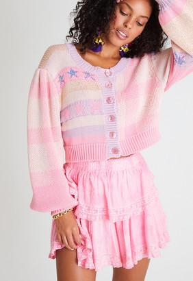 Singer22 Ruffle Mini Skirt