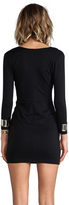 Bec & Bridge BEC&BRIDGE Exclusive Jaguar Long Sleeve Cuff Dress