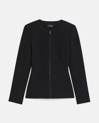 Theory Sculpture Blazer in Double Crepe