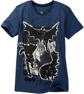 Dx-Xtreme Batman Go Somewhere Short Sleeve Tee (Big Boys)
