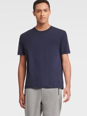 DKNY Men's Short-sleeve Solid Tee - Navy - Size XS