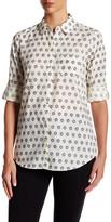 Foxcroft 3/4 Length Sleeve Printed Shirt