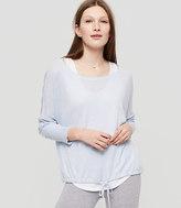 Lou & Grey Drawstring Sweater