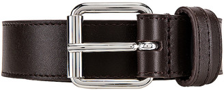 Comme des Garcons Classic Leather Line B Belt in Brown | FWRD