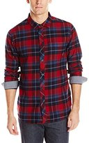 Billabong Men's Henderson Long Sleeve Woven Flannel