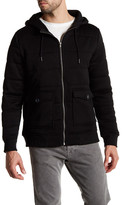 Threads 4 Thought Quilted Puffy Zip Hoodie