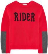 Zadig & Voltaire Mini Me cotton and cashmere sweater