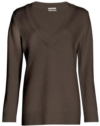 Co Cashmere V-Neck Knit Sweater