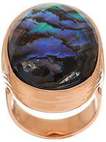 Honora Abalone Bold Doublet Bronze Ring