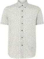 Peter Werth Men's Spender Melange Floral Print Shirt