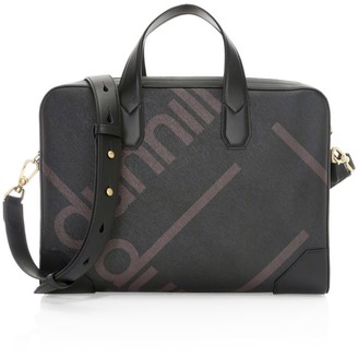 Dunhill Luggage Canvas Document Case