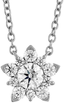 Hearts On Fire 18K 0.45 Ct. Tw. Diamond Aerial Cluster Pendant Necklace