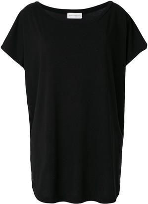 Faith Connexion oversized boat-neck T-shirt