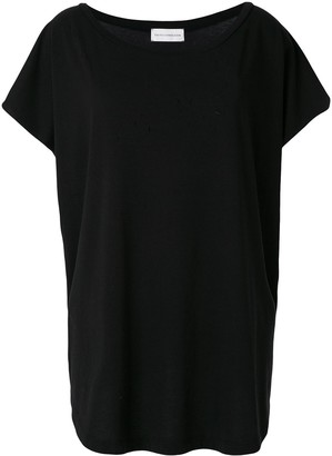 Faith Connexion oversized boat-neck T-shirt