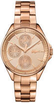 Lacoste Women's Philadelphia Rose Gold Plated Bracelet Watch