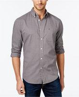 Tommy Hilfiger Men's Big & Tall Steinbeck Button-Down Check Shirt