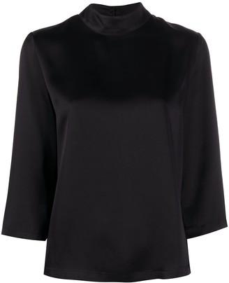 Semi-Couture Charline mock neck blouse