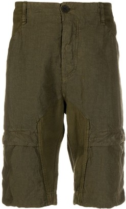 Transit knee-length cargo shorts