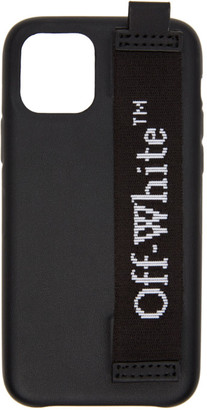 Off-White Black Industrial Logo iPhone 11 Case