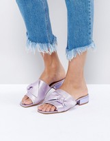 Asos FOGGY Bow Leather Sandals