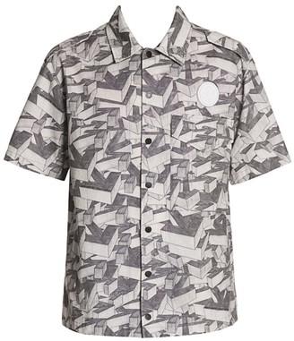 Off-White 3D Pencil Arrow Short-Sleeve Shirt