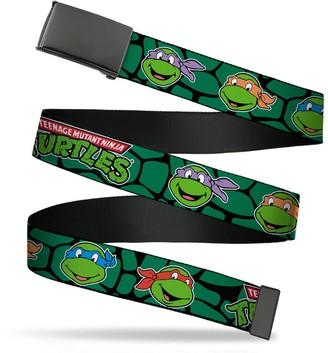 Buckle Down Buckle-Down Men's Web Belt Ninja Turtles