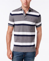 Tommy Hilfiger Men's Big & Tall Ace Striped Polo