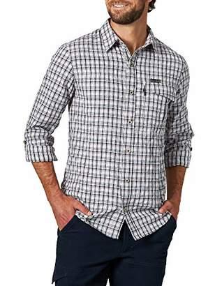 Wrangler ATG by Men's Long Sleeve Plaid Utility Shirt