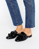 London Rebel Bow Mule Shoe