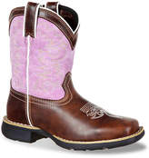 Durango Pullon Western Infant, Toddler & Youth Cowboy Boot - Girl's