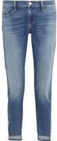 Frame Garcon Distressed Mid-rise Slim Boyfriend Jeans - 30