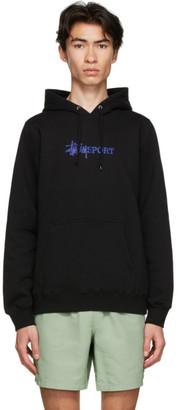 Stussy Black Sport Logo Hoodie