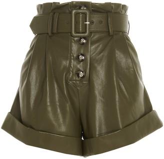 Self-Portrait Belted Shorts