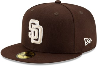 New Era Youth Brown San Diego Padres Alternate Authentic Collection On-Field 59FIFTY Fitted Hat