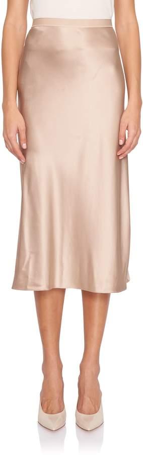Hurst Silk Satin Bias Skirt