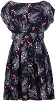 Louche STEFANIE PHEASANT Summer dress navy