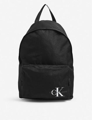Calvin Klein Reissue campus canvas backpack