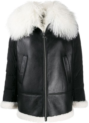 Schumacher Dorothee zipped contrast jacket