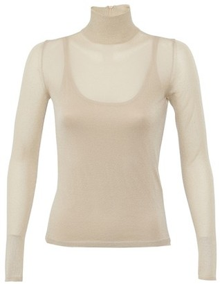 Max Mara Pietra roll neck jumper