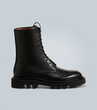 Givenchy Leather combat boots