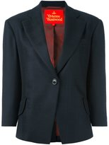 Vivienne Westwood one button blazer