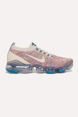 Nike Air Vapormax 3 Flyknit Sneakers - Purple