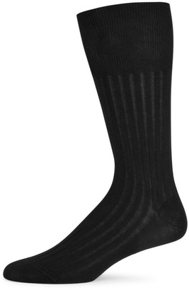 Marcoliani Milano 3-Pack Essence Of Cotton Cotton-Blend Dress Socks