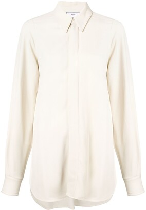 AMI Paris Pointed-Collar Shirt
