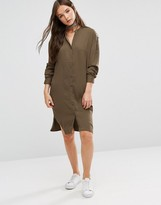 B.young Longline Shirt Dress