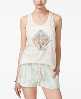 Roxy Juniors' Twisted Racerback Graphic Tank Top