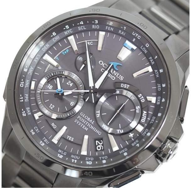 Casio Oceanus OCW-G1000B-1AJ Titanium & Black Dial 44mm Mens Watch